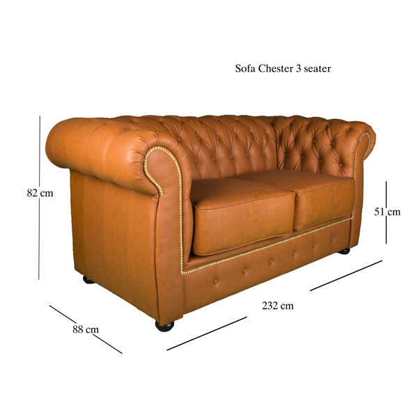 Tapos Sofas Chester 3 Seating 6